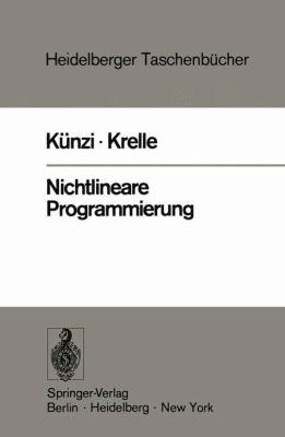 Nichtlineare Programmierung 9783540028901