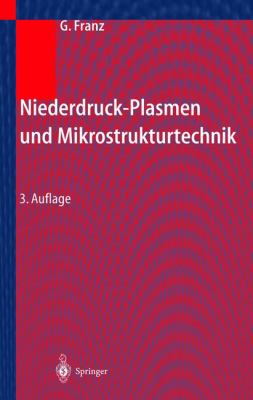 Niederdruckplasmen Und Mikrostrukturtechnik 9783540407652
