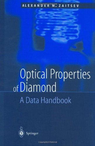 Optical Properties of Diamond: A Data Handbook