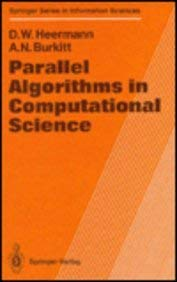 Parallel Algorithms in Computational Science 9783540534181