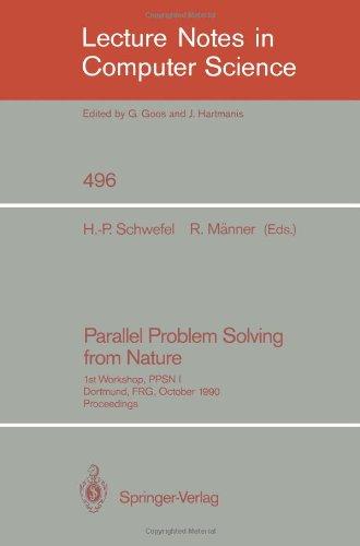 Parallel Problem Solving from Nature: 1st Workshop, Ppsn I Dortmund, Frg, October 1-3, 1990. Proceedings 9783540541486