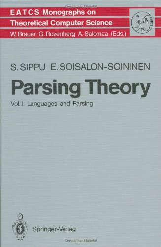 Parsing Theory I: Languages and Parsing 9783540137207