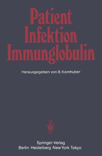 Patient Infektion Immunglobulin 9783540136071