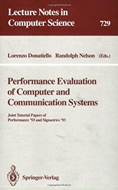 Performance Evaluation of Computer and Communication Systems 9783540572978