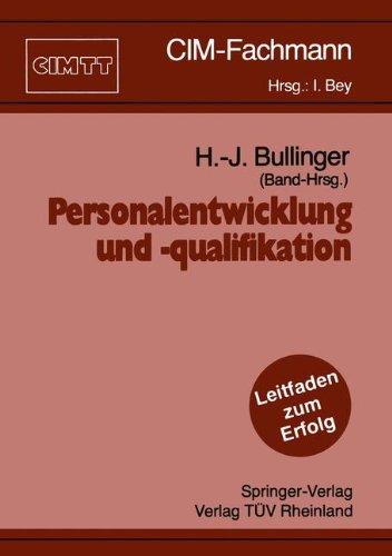 Personalentwicklung Und -Qualifikation 9783540532385