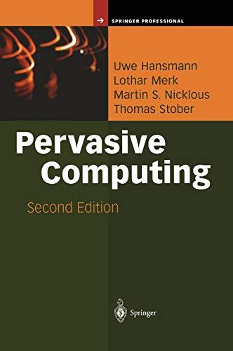 Pervasive Computing: The Mobile World 9783540002185