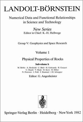 Physical Properties of Rocks 9783540110705