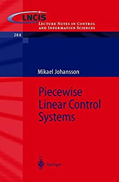 Piecewise Linear Control Systems: A Computational Approach 9783540441243