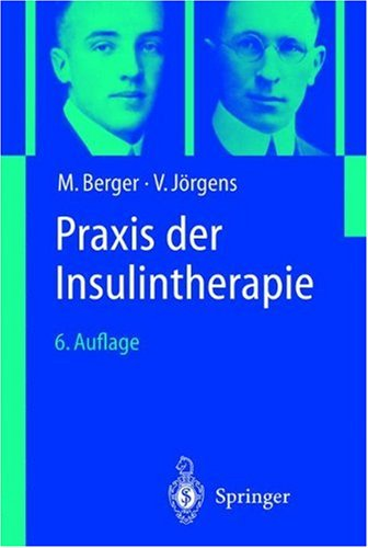 Praxis Der Insulintherapie 9783540417743