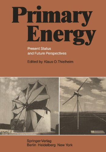 Primary Energy: Present Status and Future Perspectives 9783540113072