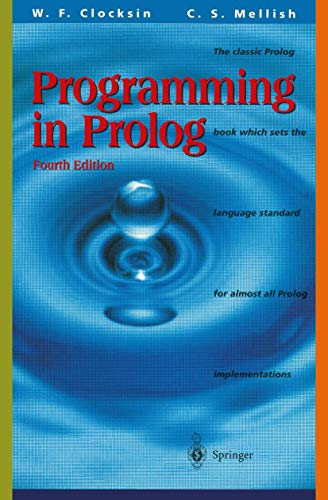 Programming in PROLOG: Using the ISO Standard 9783540583509