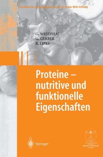 Proteine - Nutritive Und Funktionelle Eigenschaften 9783540002321