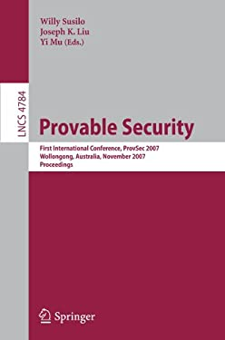 Provable Security 9783540756699