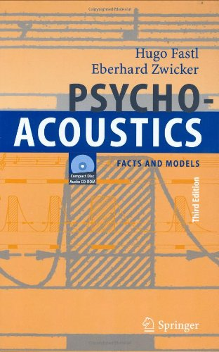 Psychoacoustics: Facts and Models 9783540231592