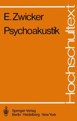Psychoakustik 9783540114017