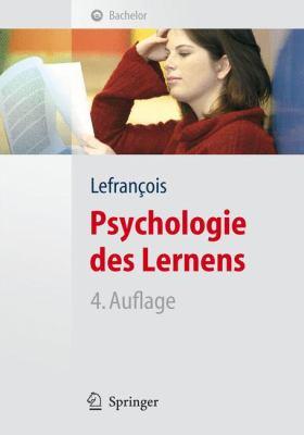 Psychologie Des Lernens 9783540328575