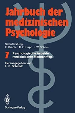 Psychologische Aspekte Medizinischer Ma Nahmen 9783540542599