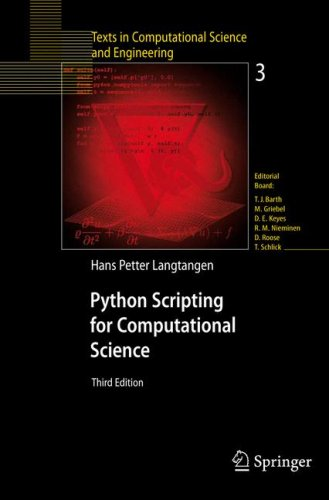 Python Scripting for Computational Science 9783540739159