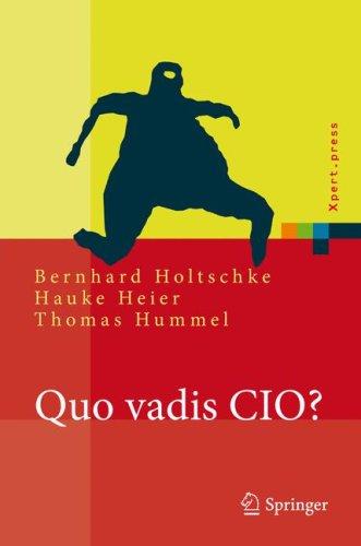 Quo Vadis CIO? 9783540745884