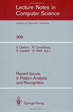 Recent Issues in Pattern Analysis and Recognition 9783540518150