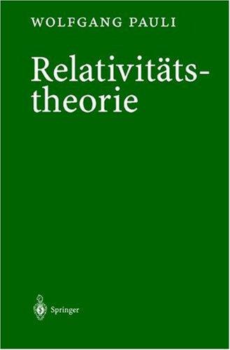 Relativit Tstheorie 9783540673125