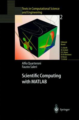 Scientific Computing with MATLAB 9783540443636