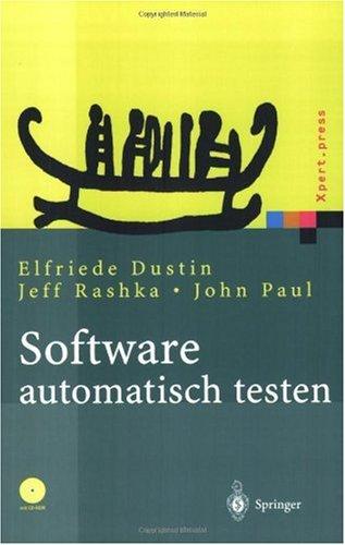 Software Automatisch Testen: Verfahren, Handhabung Und Leistung 9783540676393