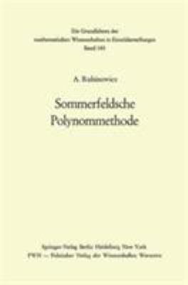 Sommerfeldsche Polynommethode. 9783540054504