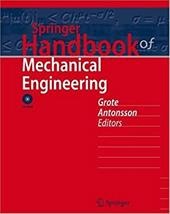 Springer Handbook of Mechanical Engineering [With DVD] 7962188