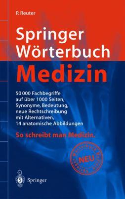 Springer Warterbuch Medizin 9783540678601