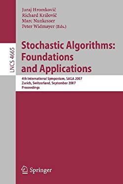 Stochastic Algorithms: Foundations and Applications 9783540748700