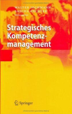 Strategisches Kompetenzmanagement 9783540279662