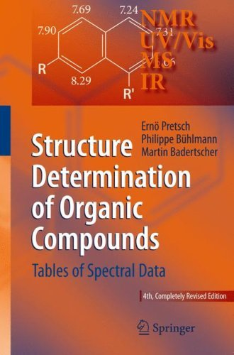 Structure Determination of Organic Compounds: Tables of Spectral Data 9783540938095
