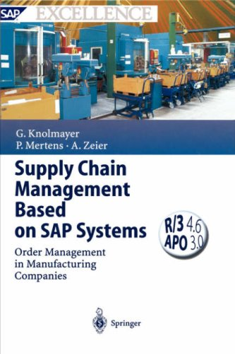 Supply Chain Management Based on SAP Systems: Order Management in Manufacturing Companies 9783540669524