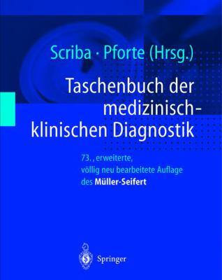 Taschenbuch Der Medizinisch-Klinischen Diagnostik 9783540648673