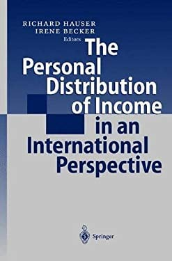 The Personal Distribution of Income in an International Perspective 9783540676485