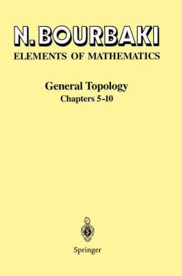 Topologie Ga(c)Na(c)Rale: Chapitres 5 a 10 9783540193722