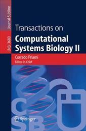 Transactions on Computational Systems Biology II