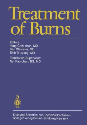 Treatment of Burns 9783540107705