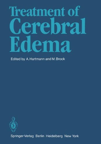 Treatment of Cerebral Edema 9783540117513