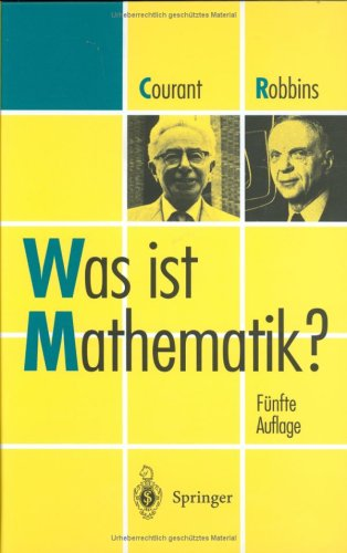 Was Ist Mathematik? 9783540637776
