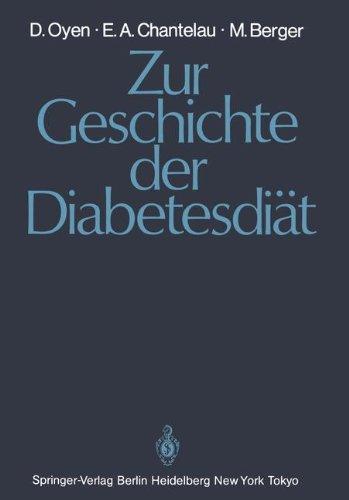 Zur Geschichte Der Diabetesdi T 9783540154501