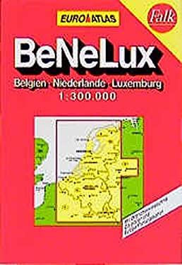 Euro-Reiseatlas 1:300.000: Belgien, Niederlande, Luxemburg 9783575228512