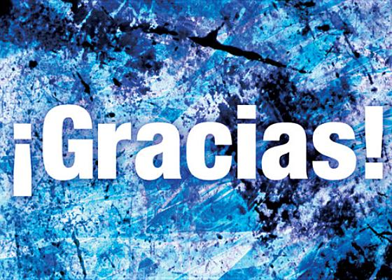 Gracias! = Thanks!