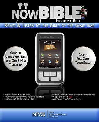 NowBible Mini-Color-NIV-Voice Only