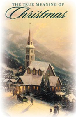 True Meaning of Christmas: 25-Pack Tracts