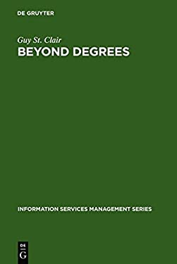 Beyond Degrees: Professional Learning for Knowledge Services 9783598243691