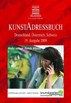 Kunstadressbuch: Deutschland, Osterreich, Schweiz 9783598231179