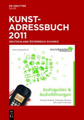 Kunstadressbuch Deutschland, A-Sterreich, Schweiz 9783598231193