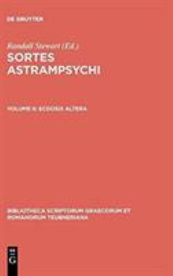 Sortes Astrampsychi 9783598710032